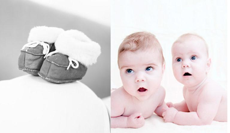 foto van babies en schoentjes
